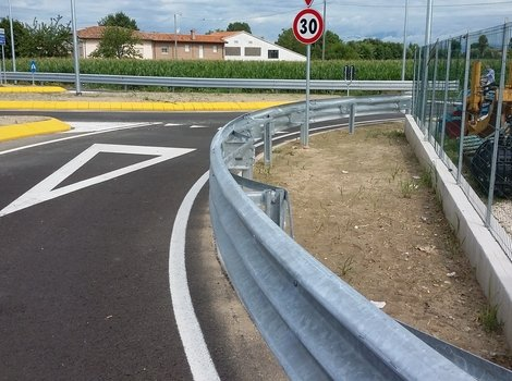 guardrail in accaio